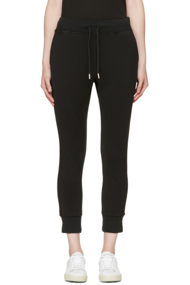 Dsquared2 - Black Small Logo Lounge Pants