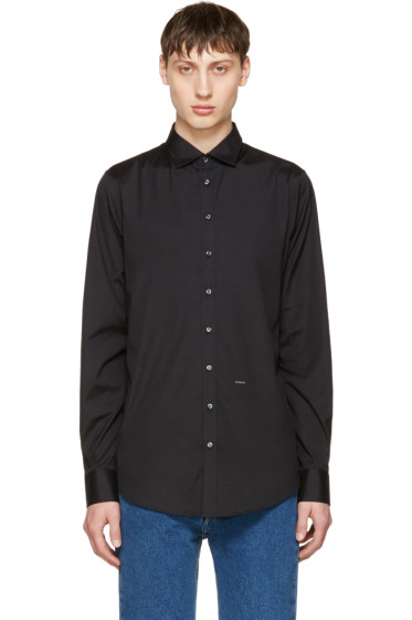 Dsquared2 - Black Poplin Carpenter Shirt