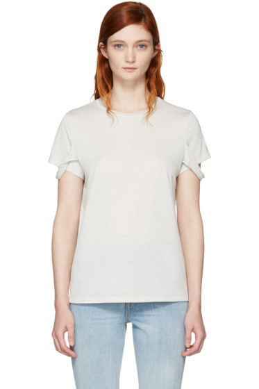 Helmut Lang - Off-White Strappy T-Shirt