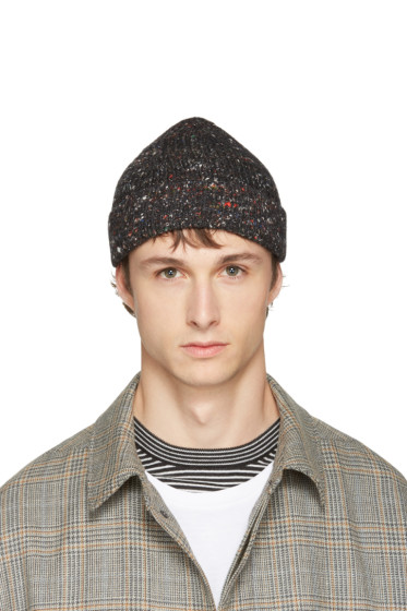 Maison Margiela - Grey Knit Beanie
