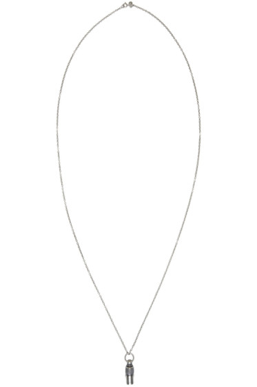 Maison Margiela - Silver Vial Necklace