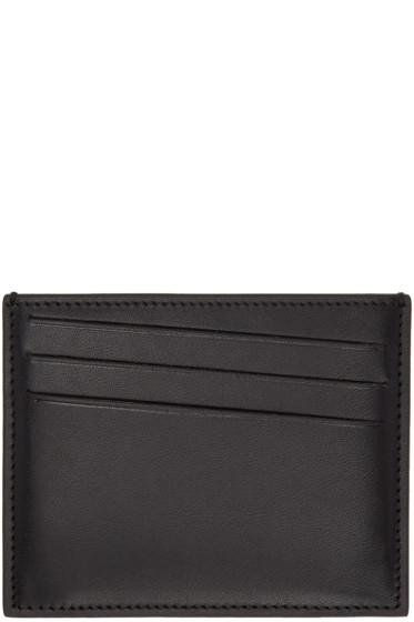 Maison Margiela - Black Leather Card Holder
