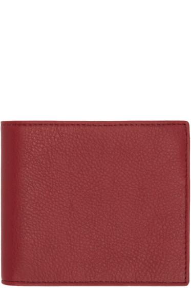 Maison Margiela - Red Bifold Wallet