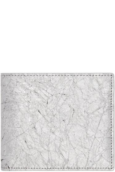Maison Margiela - Silver Bifold Wallet