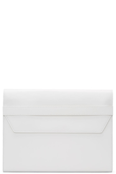 Maison Margiela - White Leather Portfolio