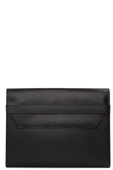 Maison Margiela - Black Leather Portfolio