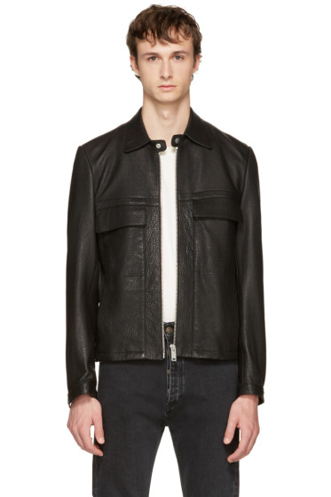 Maison Margiela - Black Leather Jacket
