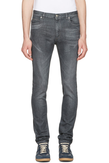 Maison Margiela - Grey Washed Jeans