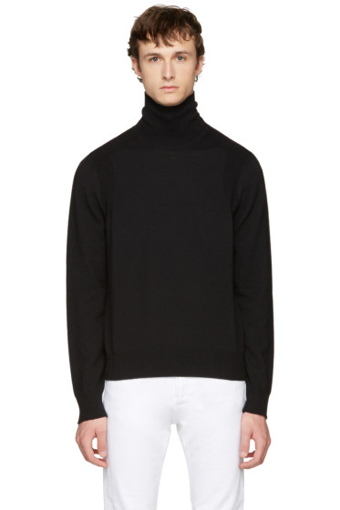 Maison Margiela - Black Wool Turtleneck