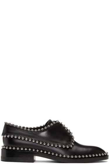 Alexander Wang - Black Ball Stud Wendie Oxfords
