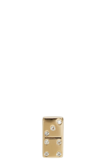 Marc Jacobs - Gold Domino Something Special Earring