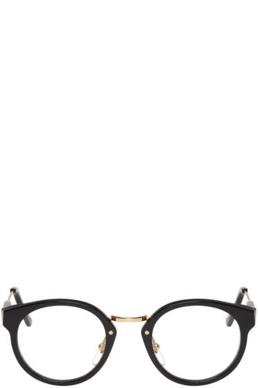 Super - Black & Gold Panama Glasses