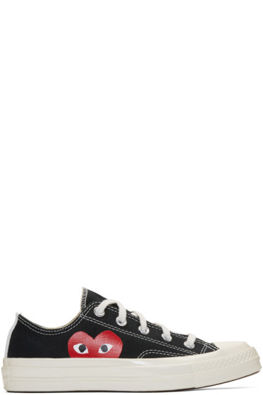 Comme des Garçons Play - Black Converse Edition Chuck Taylor All-Star '70 Sneakers