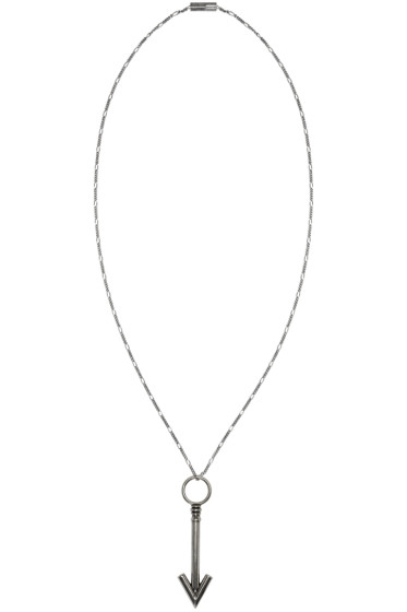 Lanvin - Silver Arrow Necklace