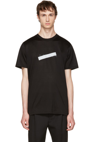 Lanvin - Black Logo T-Shirt