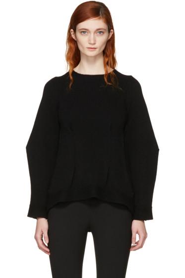 Alexander McQueen - Black Cashmere Crewneck Sweater