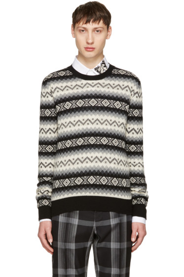 Alexander McQueen - Black Cashmere Sweater