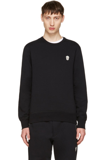 Alexander McQueen - Black Bullion Skull Patch Sweatshirt