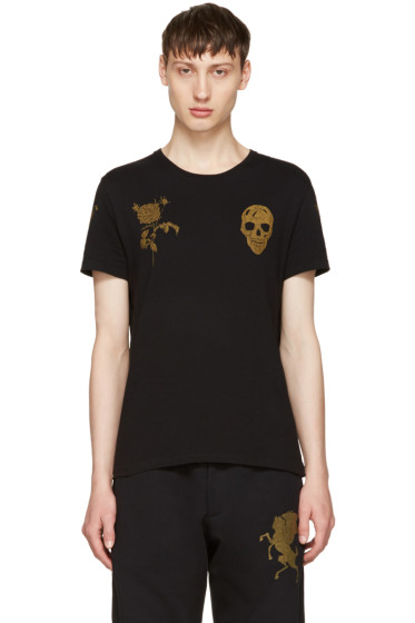 Alexander McQueen - Black Bullion T-Shirt