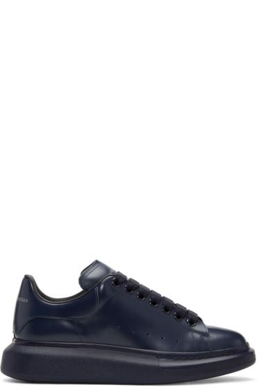 Alexander McQueen - Navy Oversized Sneakers