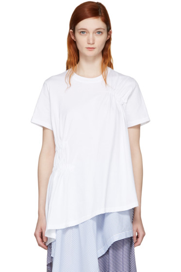 Opening Ceremony - White Sofia Tunic T-Shirt