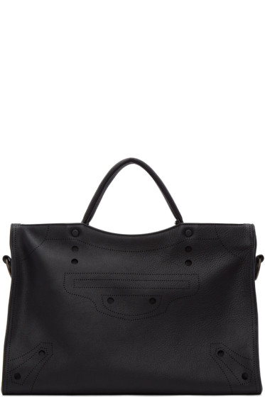 Balenciaga - Black Blackout City AJ Bag