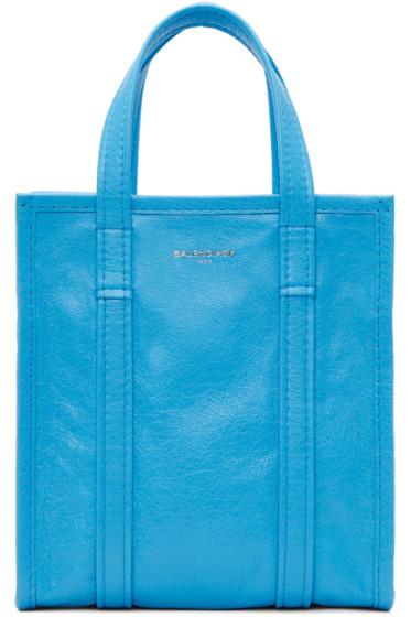 Balenciaga - Blue Bazar Shopper XS AJ Tote