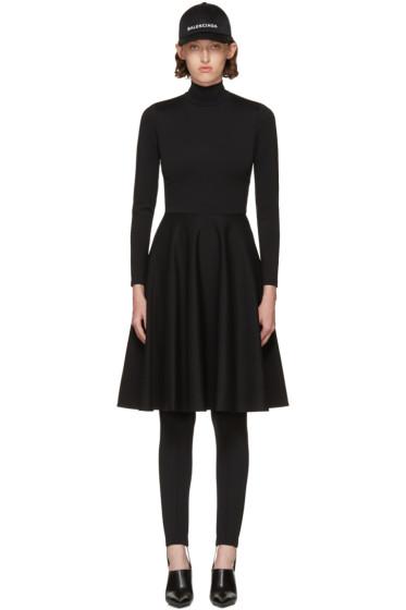 Balenciaga - Black Ice Skater Dress