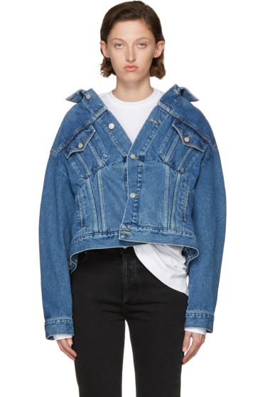 Balenciaga - Blue Swing Denim Jacket