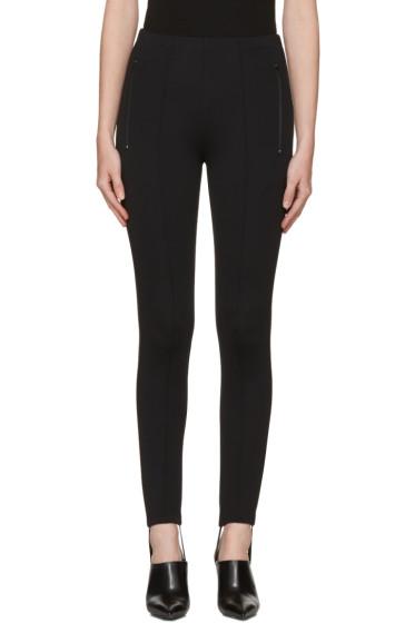 Balenciaga - Black Fuseau Jogger Pants