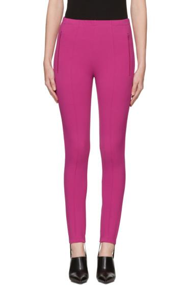 Balenciaga - Pink Fuseau Jogger Pants