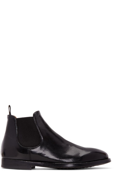 Officine Creative - Black Herve Chelsea Boots