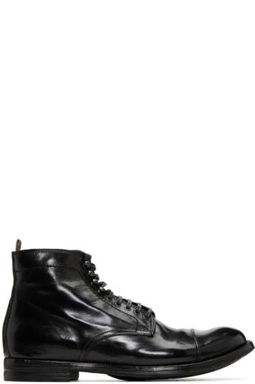 Officine Creative - Black Anatonia 16 Boots