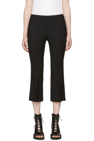 Neil Barrett - Black Wool Flared Trousers