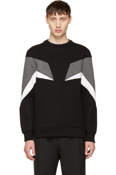 Neil Barrett - Tricolor Modernist Sweatshirt