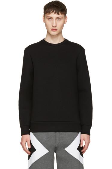 Neil Barrett - Black Army Patch Sweatshirt