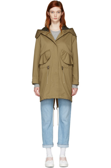 Burberry - Tan Chiltondale Military Parka