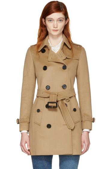 Burberry - Camel Kensington Trench Coat