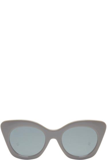 Thom Browne - Grey TB 508 Cat-Eye Sunglasses