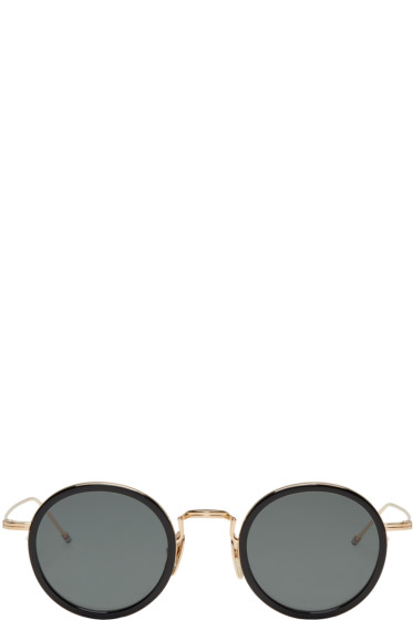 Thom Browne - Black & Gold TB 906 Sunglasses