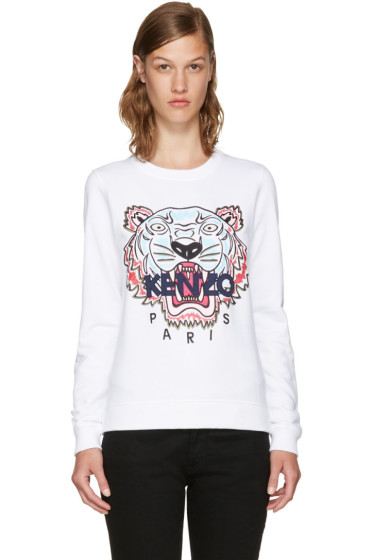 Kenzo - White Limited Edition Tiger Sweatshirt