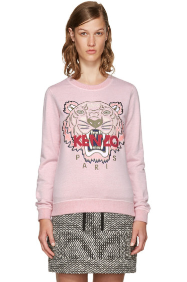 Kenzo - Pink Limited Edition Tiger Sweatshirt