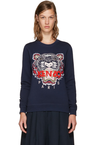 Kenzo - Navy Limited Edition Tiger Sweatshirt