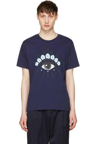 Kenzo - Navy Eye T-Shirt