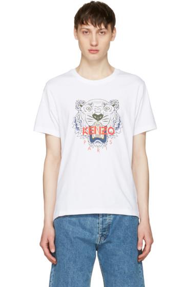 Kenzo - White Tiger T-Shirt
