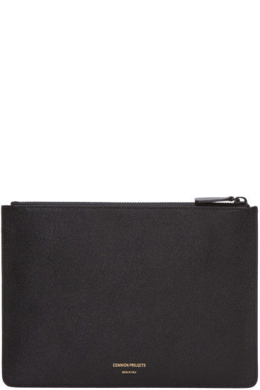 Woman by Common Projects - Black Small Folio Pouch