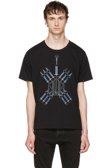 Valentino - Black Love Blade T-Shirt