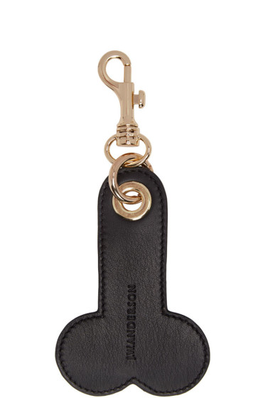J.W. Anderson - SSENSE Exclusive Black & White Penis Keychain
