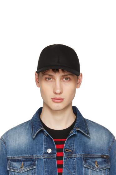 AMI Alexandre Mattiussi - Black Baseball Cap