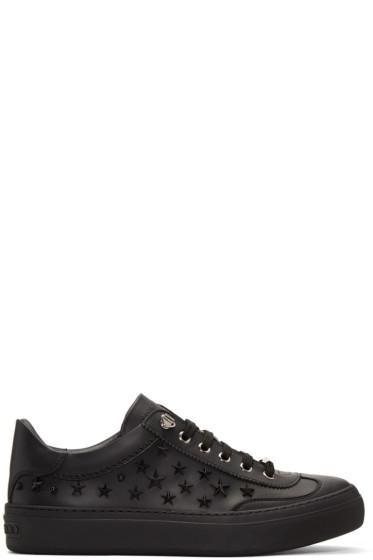 Jimmy Choo - Black Stars Ace Sneakers
